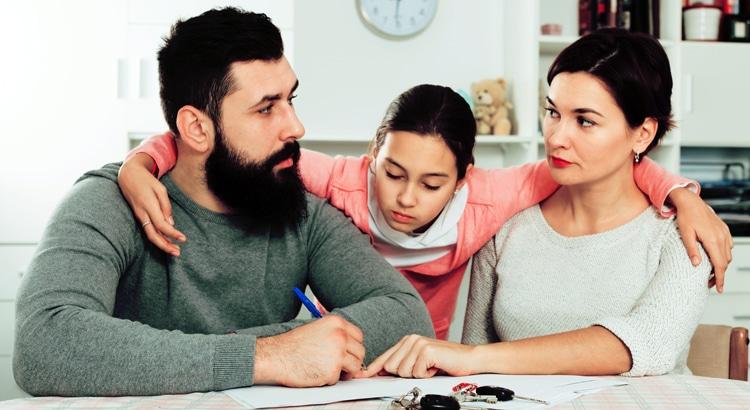 права детей на квартиру при разводе