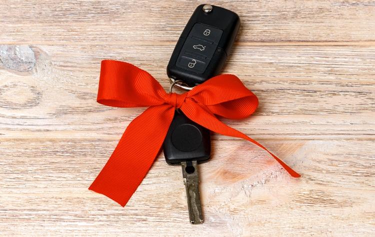 Раздел машины подаренной одному из супругов