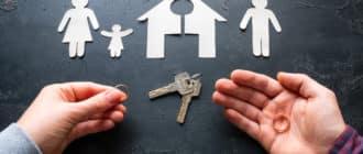 раздел недвижимости с несовершеннолетними детьми