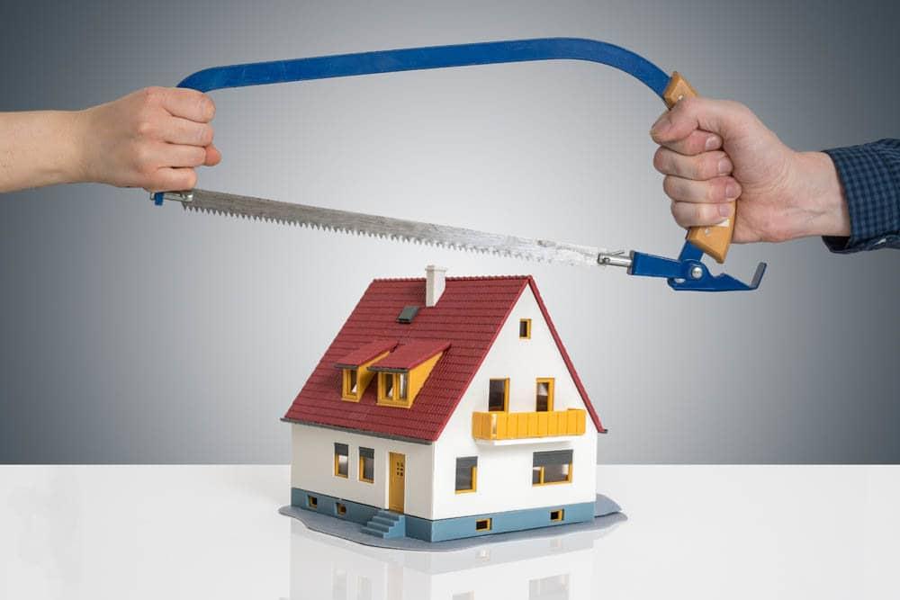 Как поделить дом